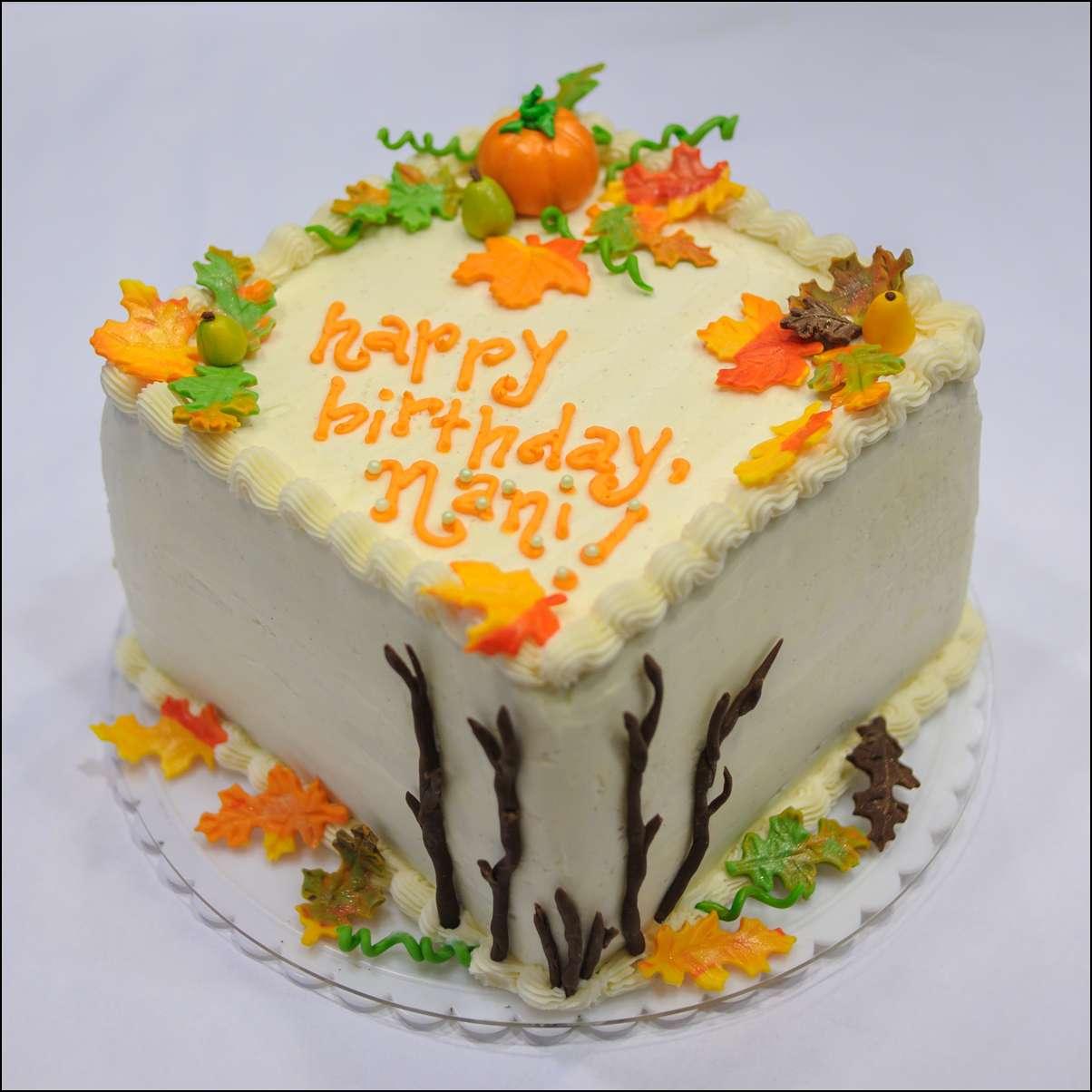 Superb 12 Birthday Cakes Happy Birthday Mom Fall Colors Photo Fall Birthday Cards Printable Benkemecafe Filternl