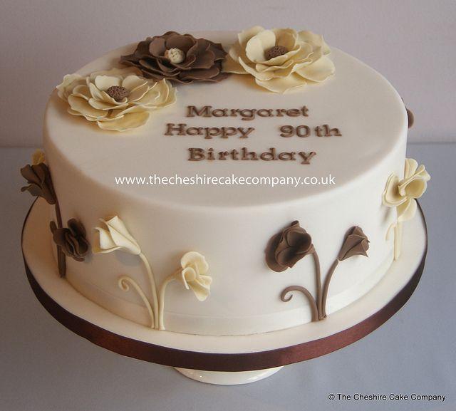 Fancy Woman Birthday Cake