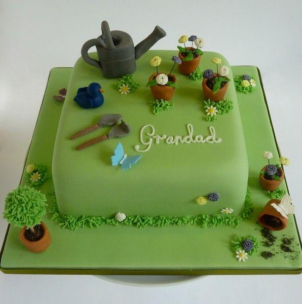 10 Gardening Cakes For Men Photo - 75th Birthday Cake Idea, Happy ...