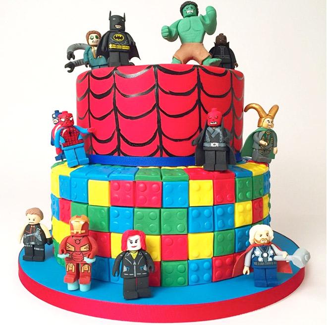 Superb 10 Lego Birthday Cakes For Older Boys Photo Lego Superhero Personalised Birthday Cards Cominlily Jamesorg