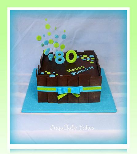 Man 80th Birthday Cake Ideas