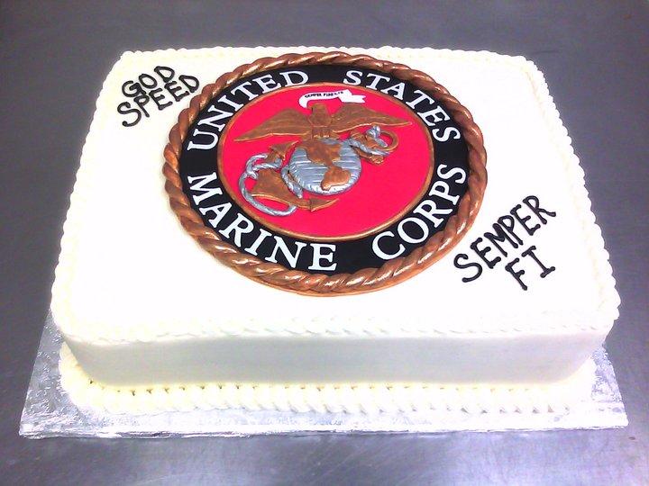 Marvelous 13 Usmc Decorations Birthday Cakes Photo Marine Corps Birthday Personalised Birthday Cards Akebfashionlily Jamesorg