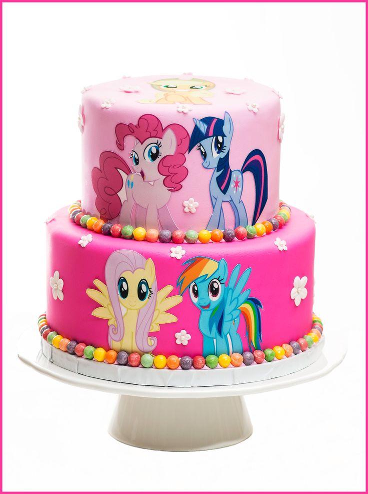 Marvelous 7 My Little Pony Friendship Birthday Cakes Photo My Little Pony Funny Birthday Cards Online Alyptdamsfinfo