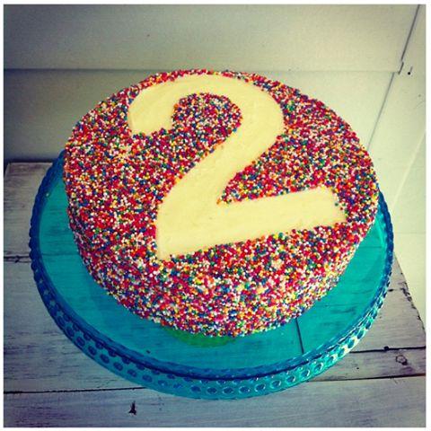 Admirable 9 Easy 2Nd Birthday Cakes Photo Happy 2Nd Birthday Girl Cake Funny Birthday Cards Online Aboleapandamsfinfo