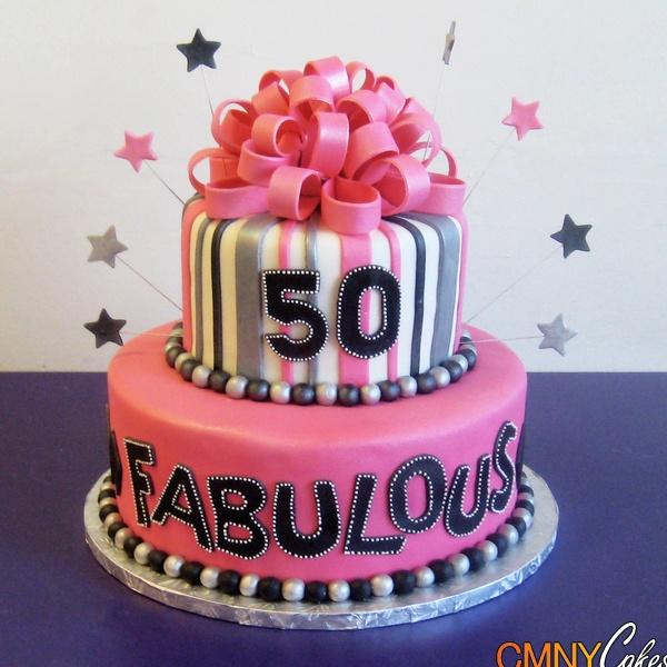 Miraculous 12 50Th Birthday Cakes 5 Photo 50Th Birthday Cake Ideas Pink Personalised Birthday Cards Veneteletsinfo