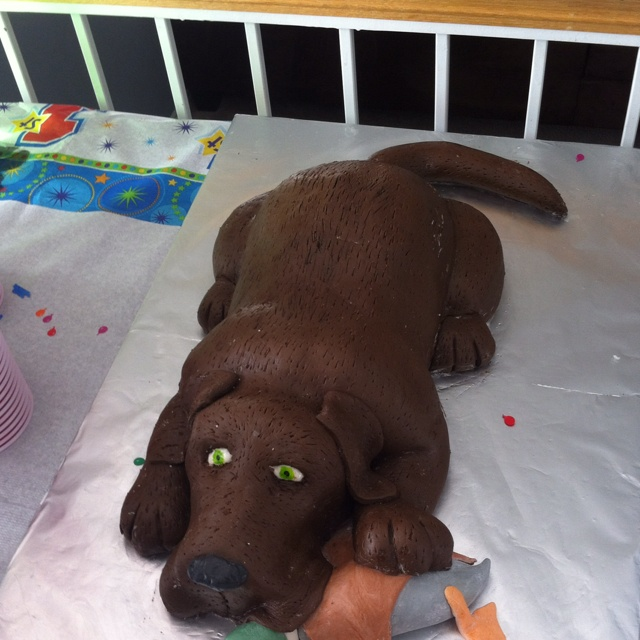 Birthday Cakes Shaped Like Dogs