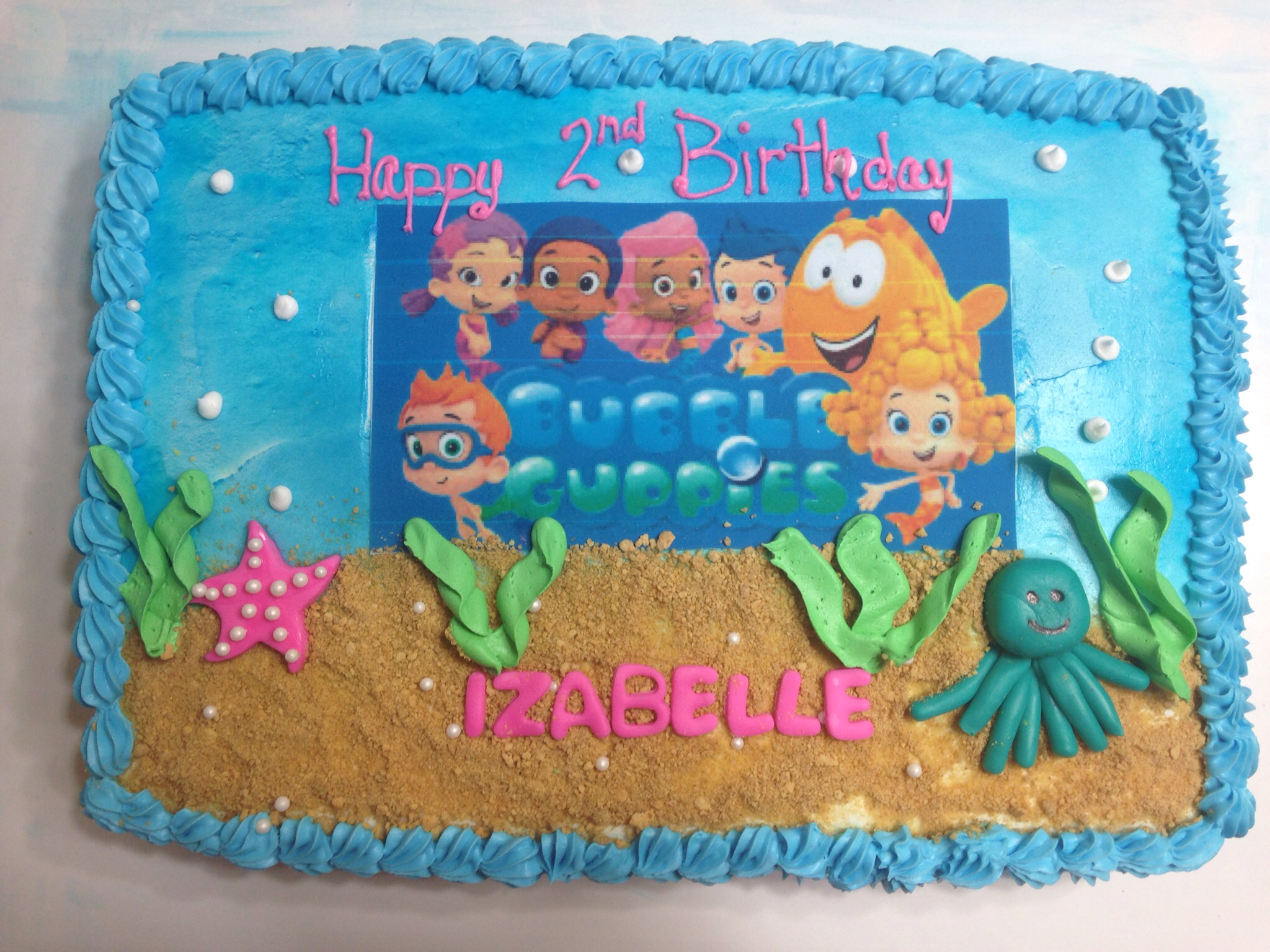 Super 7 Cakes Guppy Pinterest Birthdays Forbubble Photo Bubble Guppies Funny Birthday Cards Online Alyptdamsfinfo