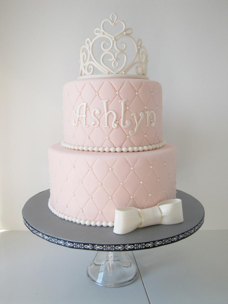 9 Little Girl Crown Cakes Photo Princess Crown Birthday Cake