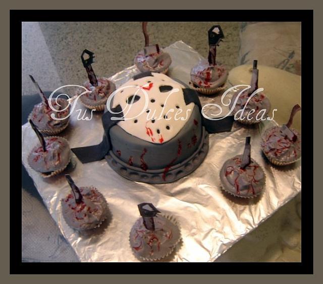 6 Friday The 13th Cakes Photo Jason Friday 13th Birthday Cake
