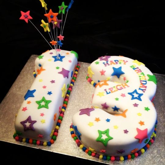 Girls 13th Birthday Cake Ideas