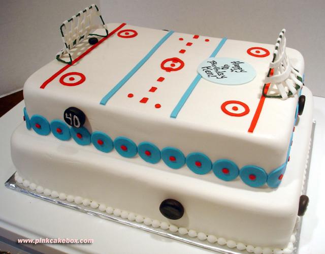 Miraculous 12 Hockey Birthday Cakes Pink Photo Hockey Birthday Cake Hockey Personalised Birthday Cards Cominlily Jamesorg