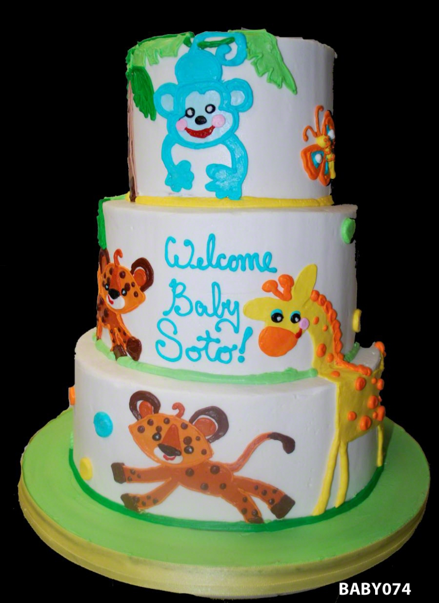 9 lion baby shower cake of cakes photo - lion king baby shower cake