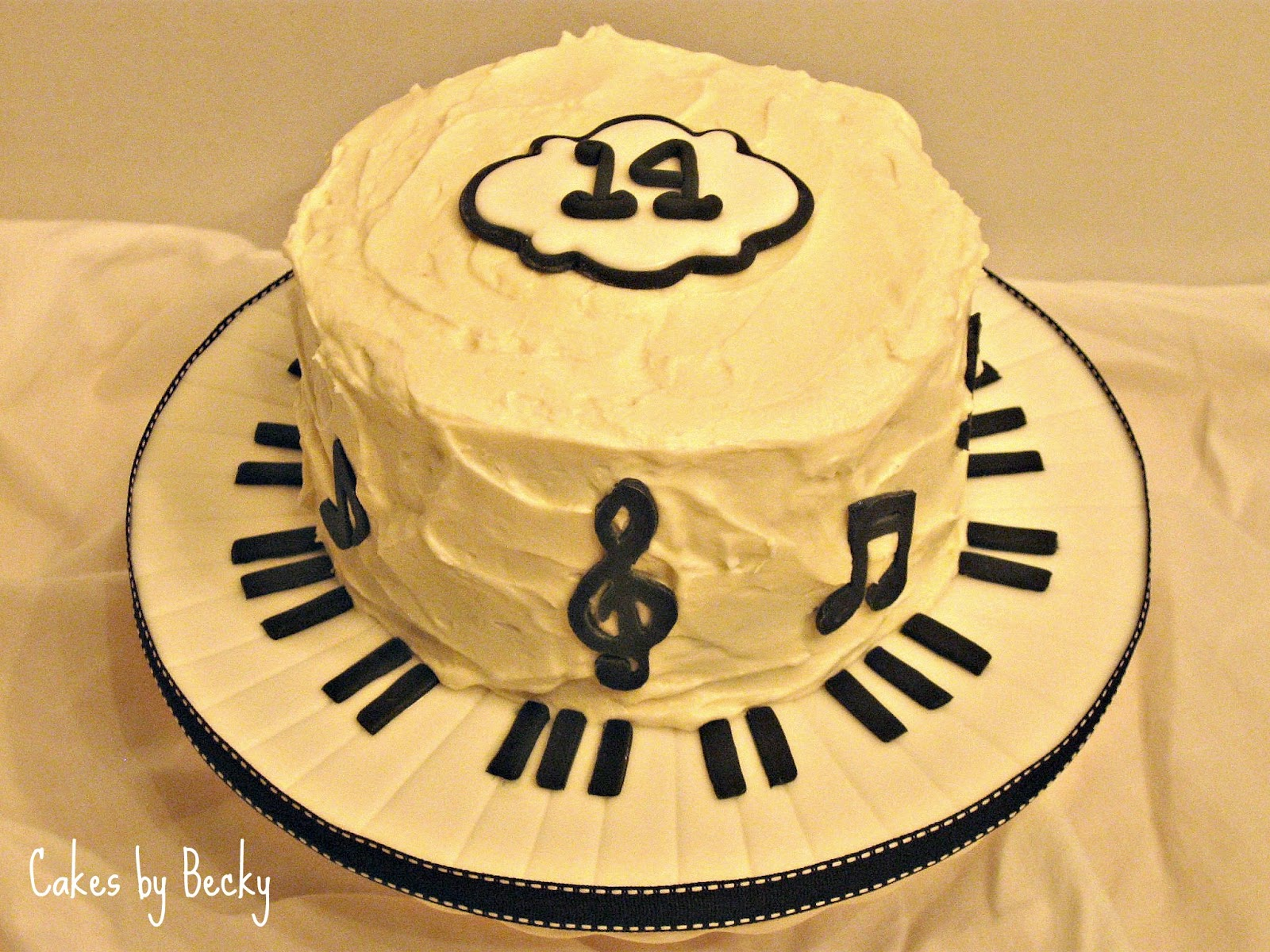 12 Music Bday Cakes Photo Cake Musical 50th Birthday Cake And