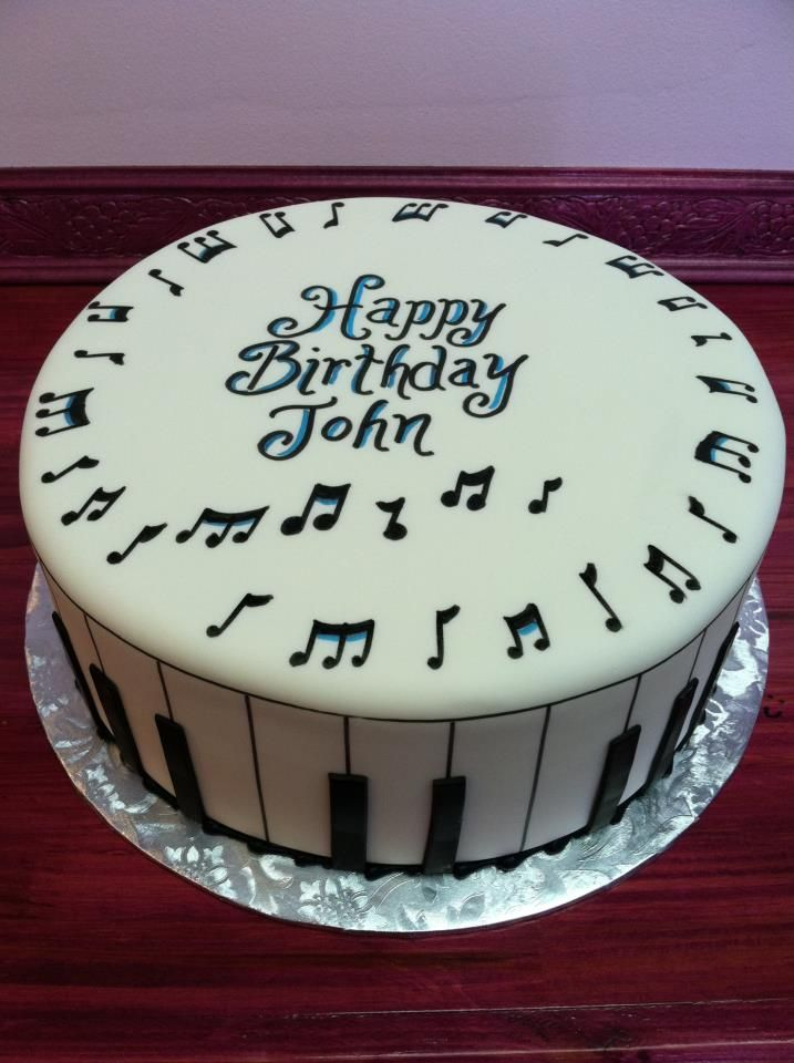 11 Musical Stuff To Put On Cakes Photo Music Sheet Cake Ideas
