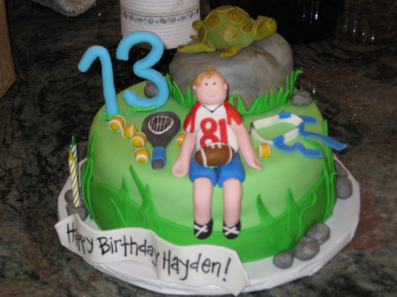 Teen Boy Birthday Cakes
