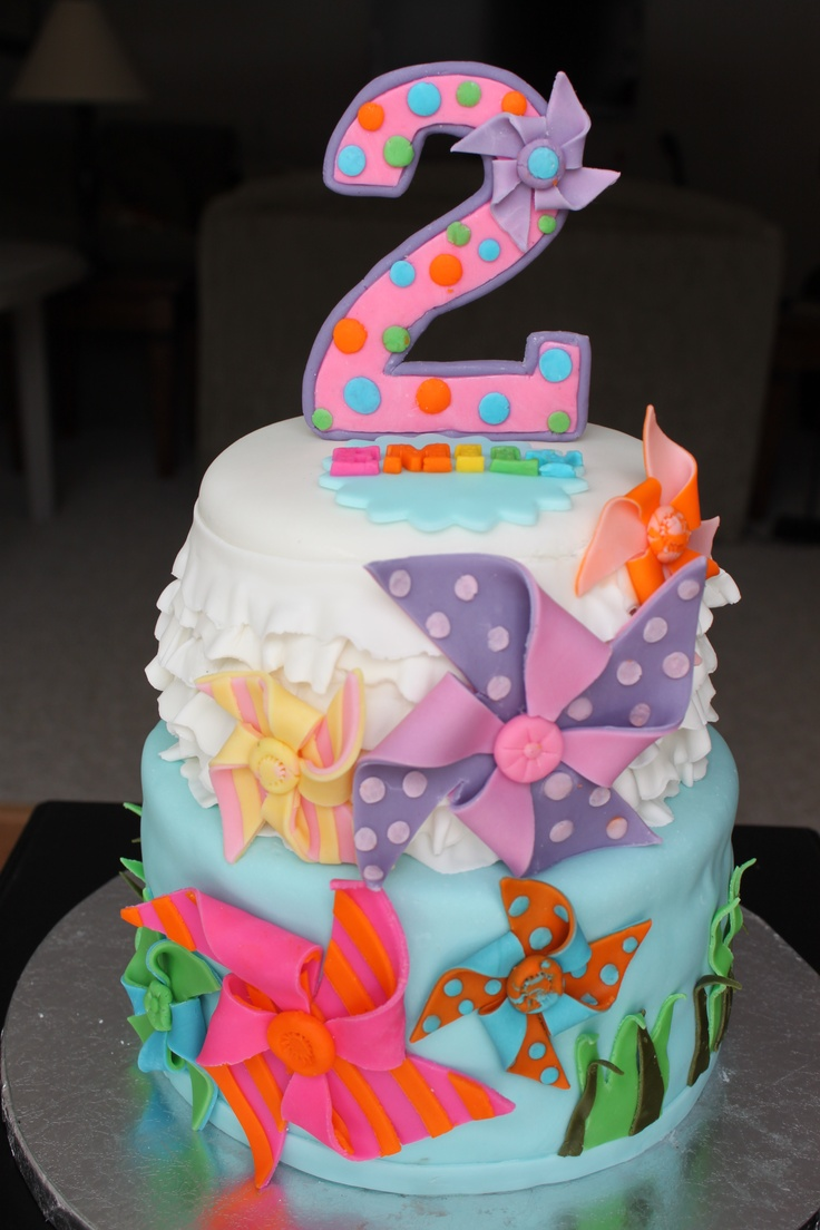 2 Year Old Girl Birthday Cake Ideas