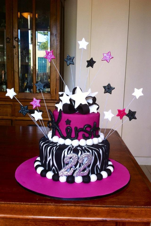 10 22 Birthday Cupcakes Photo Happy 22nd Birthday Cake 22