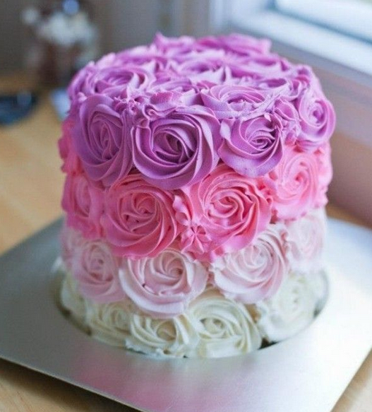 Made Real Flowers Birthday Cake Photo Directory Page 918 Snackncake