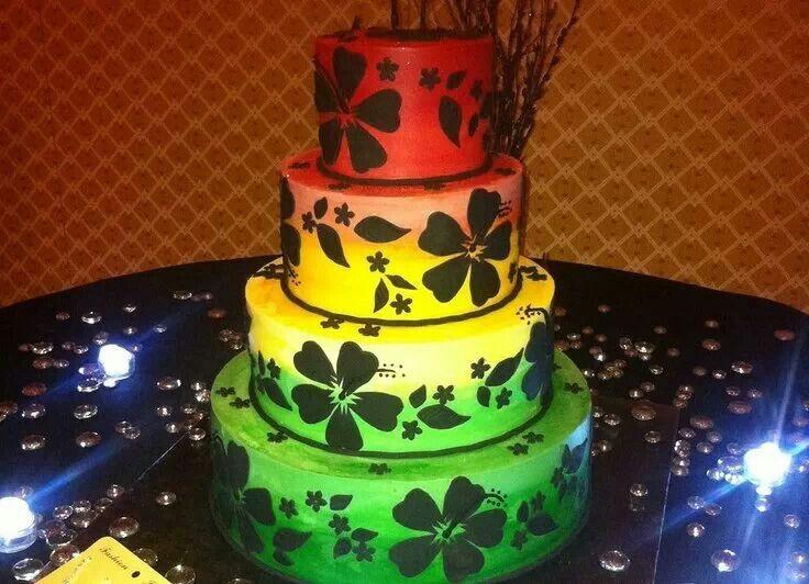 Amazing 13 Jamaican Rasta Birthday Cakes Photo Rasta Birthday Cake Funny Birthday Cards Online Elaedamsfinfo