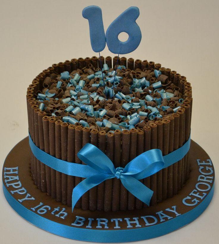 12 16th Birthday Cakes For Guys Photo 16 Birthday Cake Ideas For
