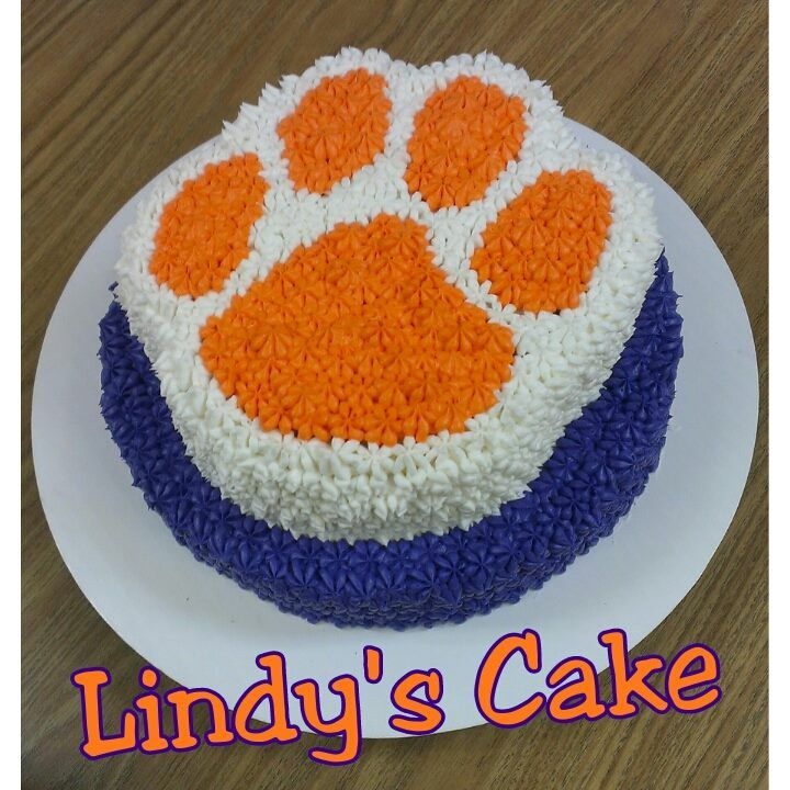 Admirable 11 Carolina Gamecocks And Clemson Tigers Birthday Cakes Photo Funny Birthday Cards Online Eattedamsfinfo