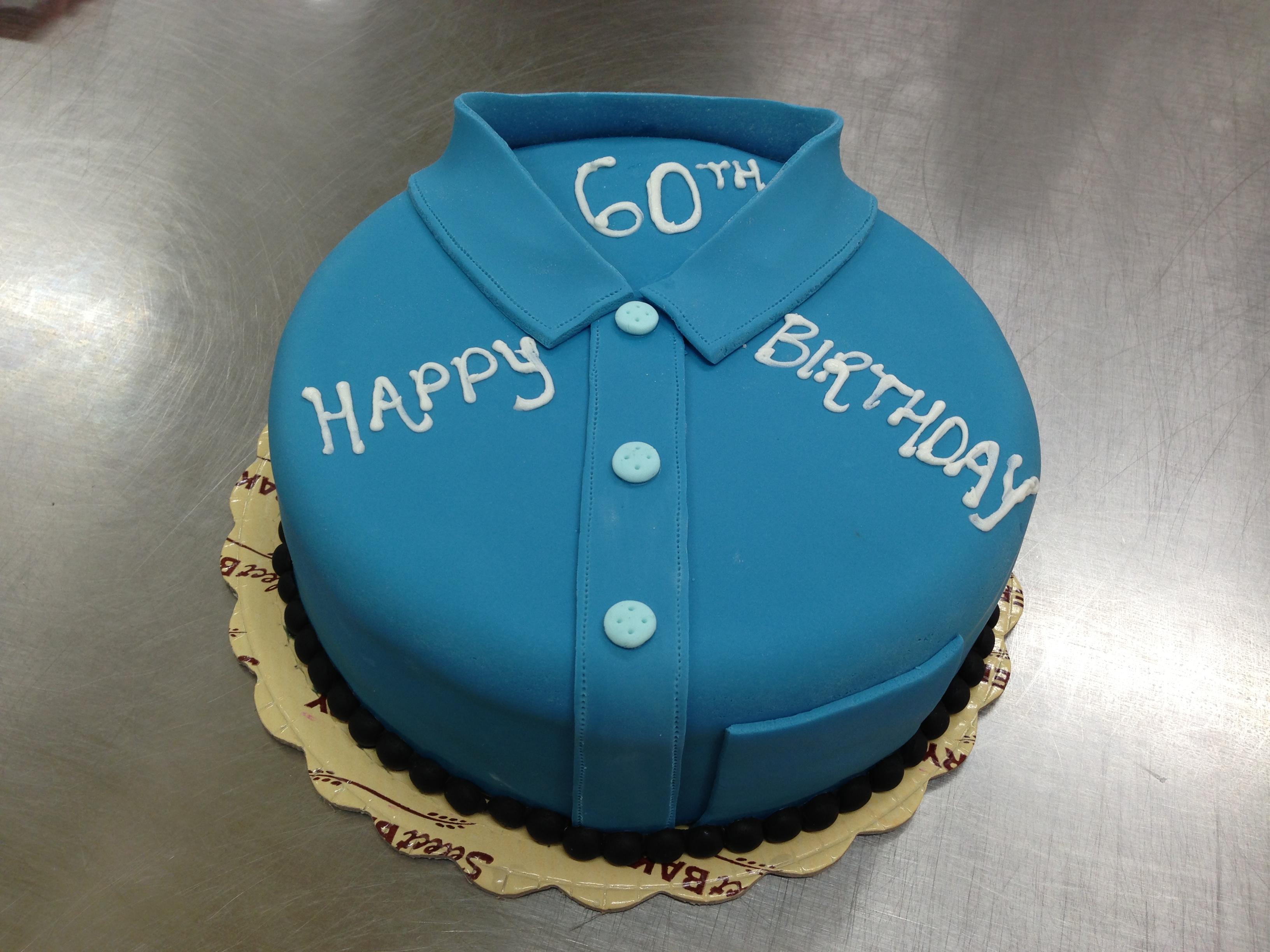 Dads 60th Birthday Cake