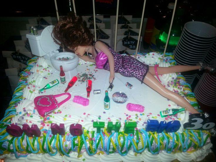 Astonishing 11 Dirty 30Th Birthday Cakes Photo Dirty 30 Birthday Cake Ideas Funny Birthday Cards Online Hetedamsfinfo