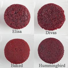5 Elisa Strauss Red Velvet Cupcakes Photo Divas Can Cook Red