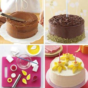 Phenomenal 12 Cake Decorating Idea With 2 Cakes Photo Easy Cake Decorating Funny Birthday Cards Online Aboleapandamsfinfo
