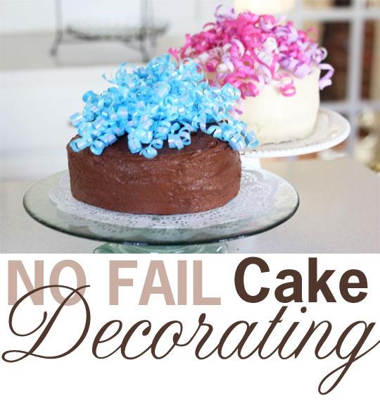 Lovely Easy Cake Decorating Idea