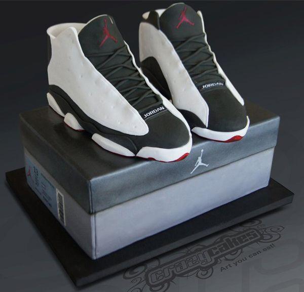 11 Jordan Cakes For Teenage Boy Photo - Jordan Shoe Box Cake, Teen