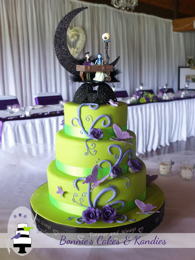 blue and green wedding cake designs 10 green and purple wedding cakes photo blue 11946