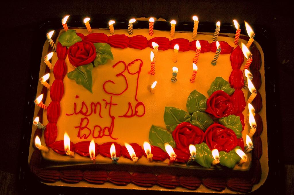 10 Happy 39 Birthday Cakes Photo Happy 39th Birthday Cake Happy