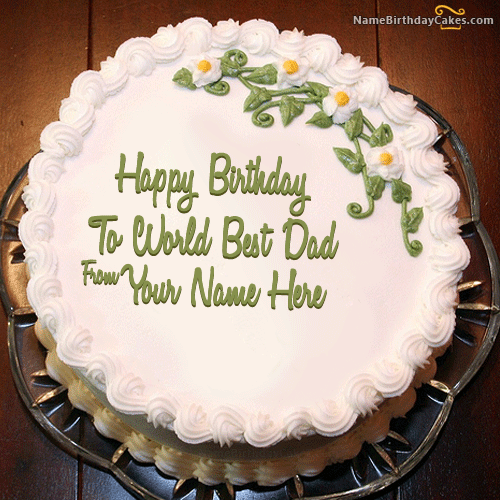 Cool 10 Most Beautiful Birthday Cakes Dad Photo Happy Birthday Dad Birthday Cards Printable Nowaargucafe Filternl