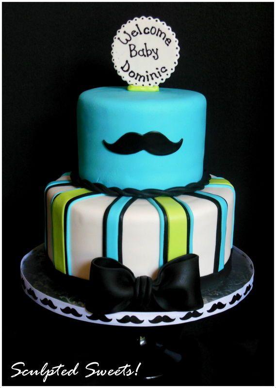 Little Man Baby Shower Cake Ideas