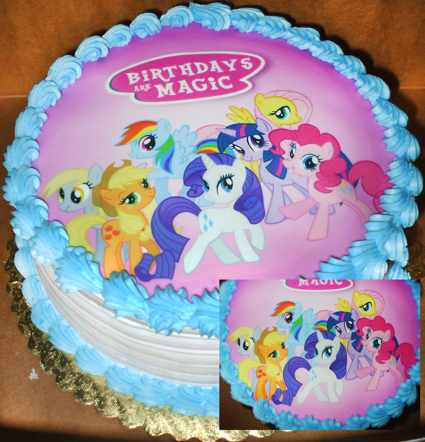 11 All My Little Pony Cakes Photo My Little Pony Cake My Little
