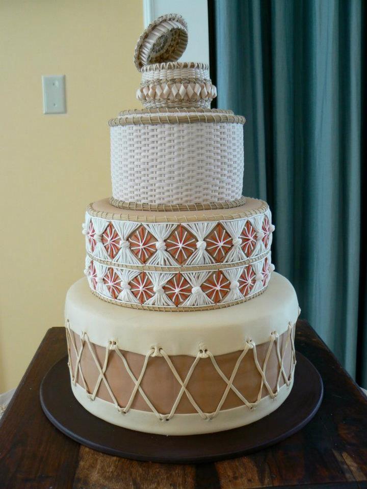 12 Navajo Drum Wedding Cakes Photo Native American Indian Wedding