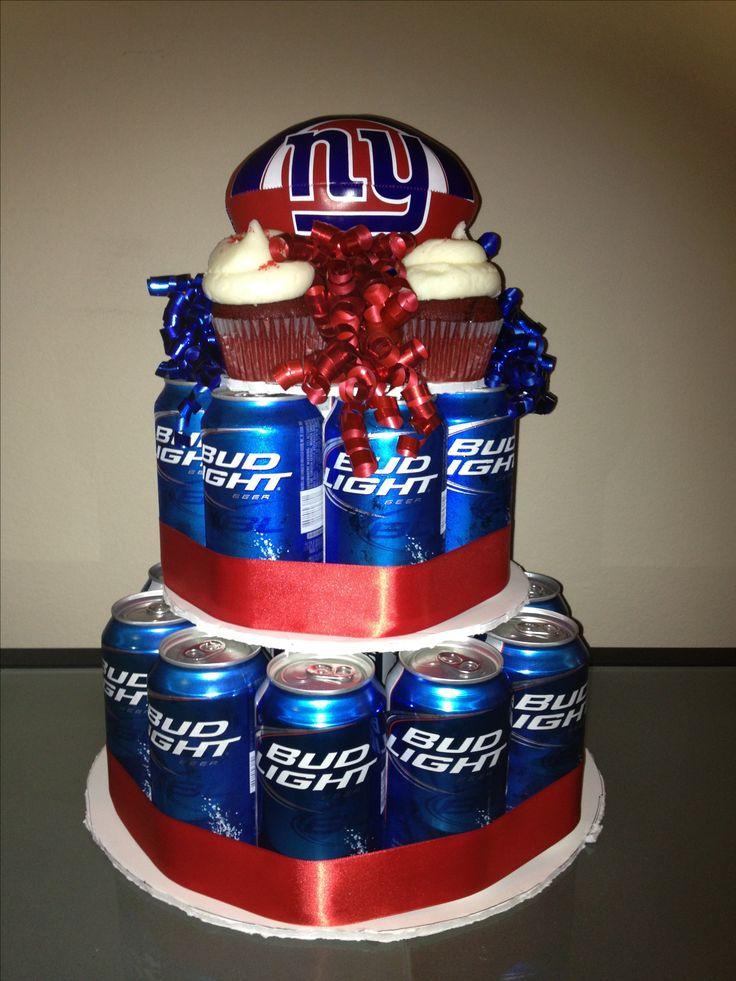 9 New York Giants Birthday Cakes For Men Photo - New York Giants ...