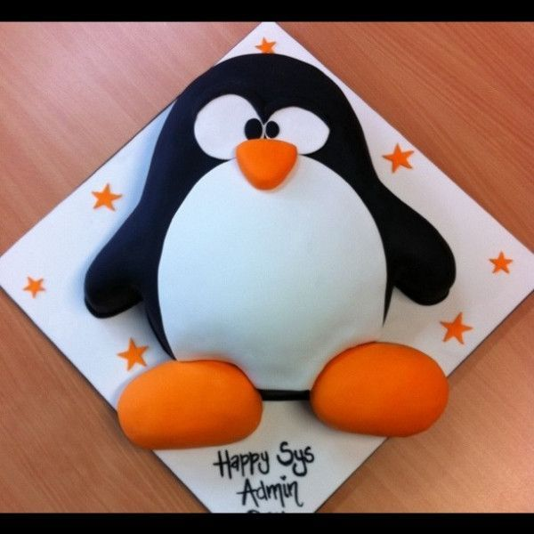 13 San Jose Birthday Cakes And Penguin Photo Penguin Birthday Cake