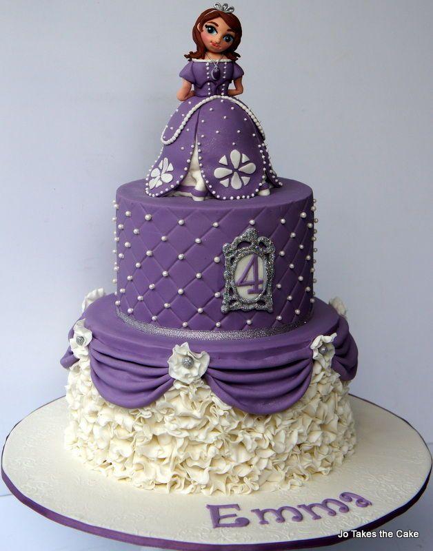 12 Sofia First Princess Birthday Cakes Photo Sofia The First