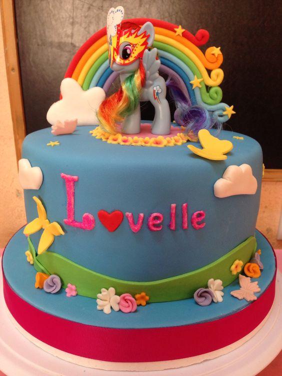 Swell 8 Rainbow Dash Big Cupcake Cakes Photo Rainbow Dash Birthday Personalised Birthday Cards Veneteletsinfo