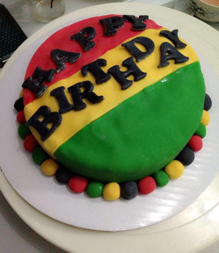 Sensational 13 Jamaican Rasta Birthday Cakes Photo Rasta Birthday Cake Funny Birthday Cards Online Inifodamsfinfo