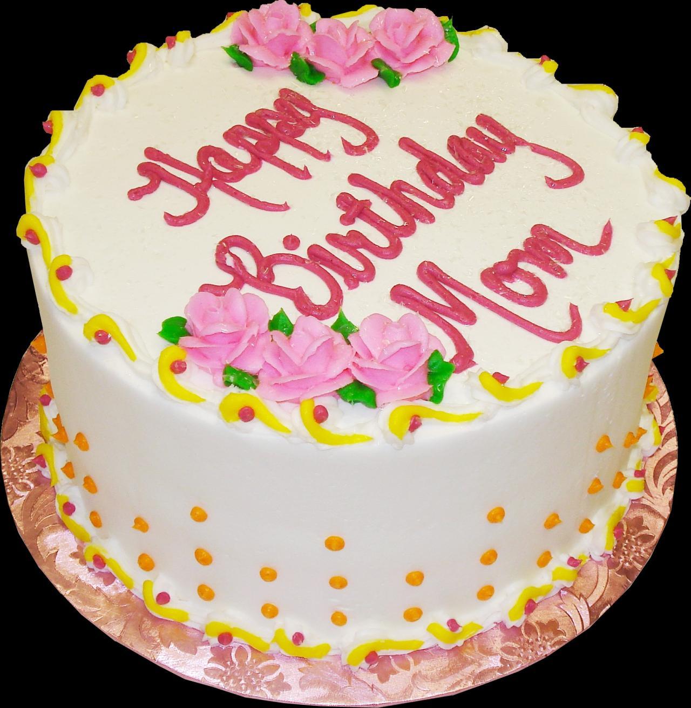 Phenomenal 9 Round Birthday Cakes Photo Round Birthday Cake With Flowers Funny Birthday Cards Online Hendilapandamsfinfo