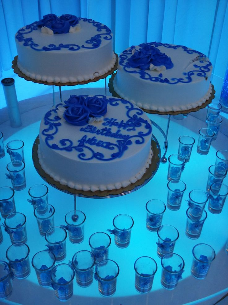 Sensational 9 Royal Blue 18Th Birthday Cakes Photo Royal Blue And White Birthday Cards Printable Trancafe Filternl