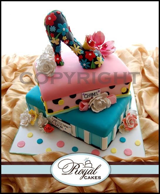 shoe theme bridal shower
