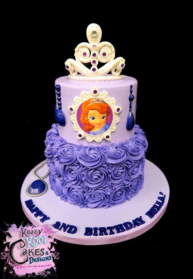 Fabulous 12 Sofia First Princess Birthday Cakes Photo Sofia The First Personalised Birthday Cards Akebfashionlily Jamesorg