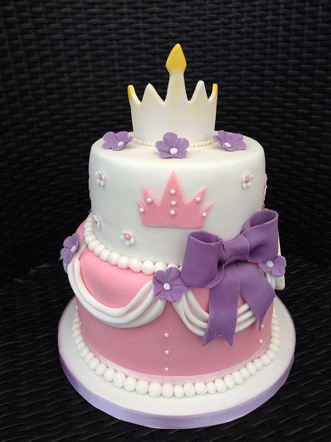 9 Tiered Princess Birthday Cakes Photo 3 Tier Princess Birthday