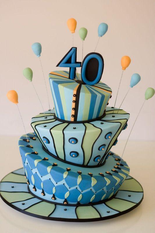40th Birthday Cake Ideas For Women