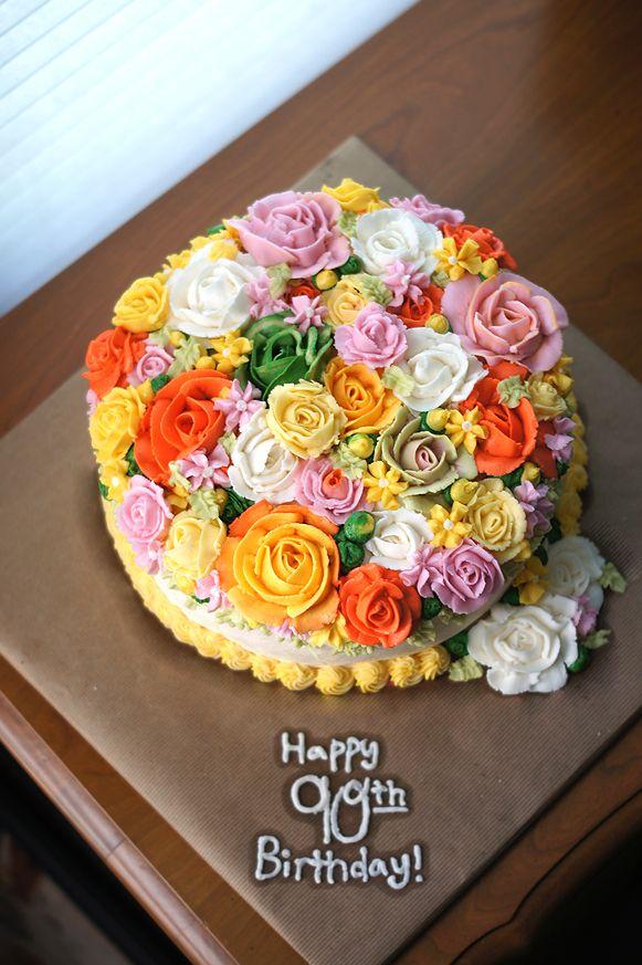 8 90 Birthday Sheet Cakes Photo