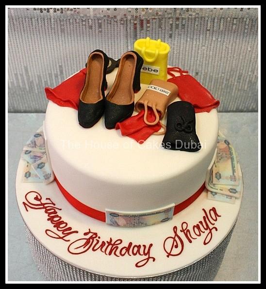 10 Shopping Birthday Cakes For Women Photo 40th Birthday Cake